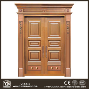 Woodwin Coppman New Design Handwork Security Door Copper Door pictures & photos