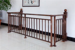 Haohan High-Quality Decorative Galvanized Steel Alluminum Alloy Balcony Railing 22 pictures & photos