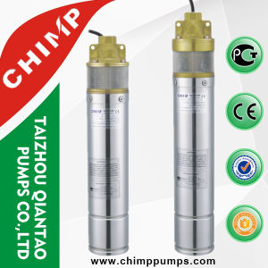China Hight Quality 4 Inch Screw Type Submersible Water Pumps pictures & photos