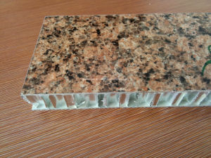 PE Coated Stone Color Aluminium Honeycomb Panels Wall Cladding pictures & photos
