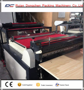 Pet Film Protecting Roll to Sheets Cutting Machine for Phone Screen (DC-HQ500) pictures & photos