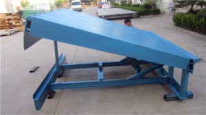 Hydraulic Scissor Loading Ramp (DCQ10-0.6) pictures & photos