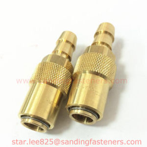 3/8 Brass Room Temperature Mold Quick Connector pictures & photos