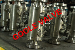 Dbb Ball Valve (DOUBLE BLOCK&BLEED VALVE) (GADBBQ47N) pictures & photos