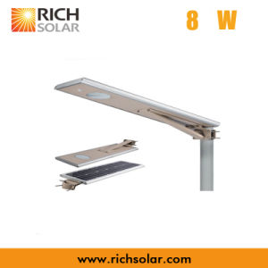 8W Solar LED Street Light with IP65