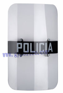 Rectangle Riot PC Shield for Police pictures & photos