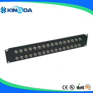 "19"" BNC connector patch panel 1U pictures & photos"
