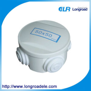 Round Plastic Electrical Junction Box, Electrical PVC Junction Boxes pictures & photos