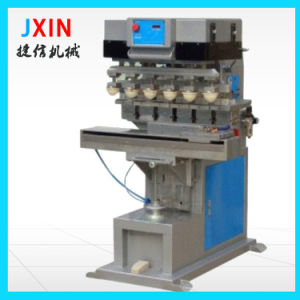 6 Color Rotary Pad Printer Machine