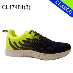 Men Sports Running Sneaker Shoes with Cushion Sole pictures & photos