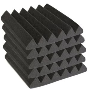 High Quality Wave Shaped Sound Insulation Acoustic Foam for Studio pictures & photos