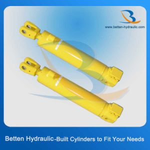 100 Ton Hydraulic Cylinder Welded Hydraulic Cylinder for Long Tractor pictures & photos
