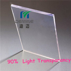 Clear Polycarbonate Glass Board for Ice Skating Floor