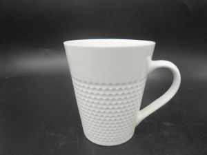 Custom All Kinds of Embossment Ceramic Mug pictures & photos