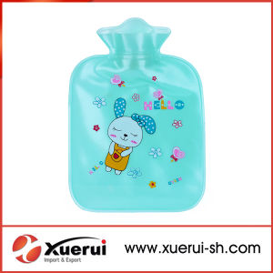 400ml-2100ml Transparent PVC Hot Water Bottle for Winter pictures & photos