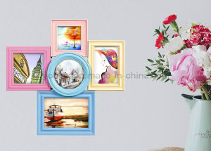 Plastic Table Top Desk Collage Photo Frame pictures & photos