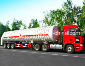 50-60 CBM LNG Tank Truck Trailer, semi trailer for LNG pictures & photos