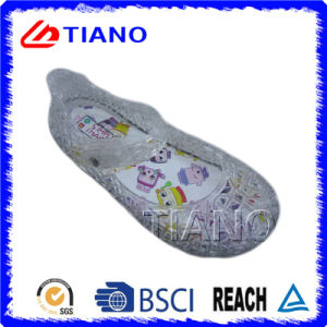 Transparent Adn Cool PVC Outdoor Children Sandal (TNK35810) pictures & photos