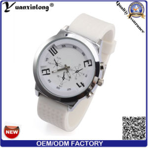 Yxl-183 New Design Big Dial Men′s Watch More Time Zone Casual Sport Men Watches Military Quartz Watches pictures & photos