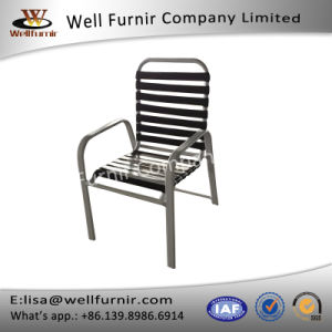 Well Furnir Wf-17053 Rattan Strap Chair with Armest pictures & photos