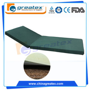 PVC PU Four Fold Hospital Bed Mattress for Sale pictures & photos