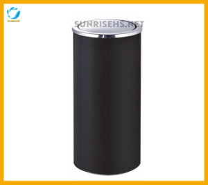 Round Shape Recycling Ashtray Bin with Swivel Lid pictures & photos