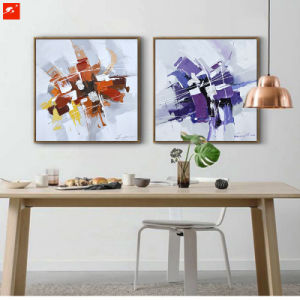 100% Handmade Abstract Oil Painting pictures & photos