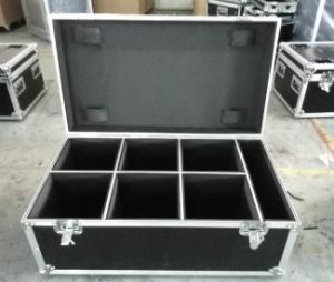 LED PAR Flight Case for 6 PAR Cans with Panels