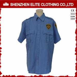 Short Sleeve Work Security Uniform Guard Shirts (ELTHVJ-297) pictures & photos