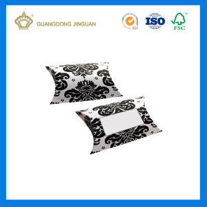 Wholesale Custom Logo Die Cut Paper Pillow Box (China manufacturer) pictures & photos