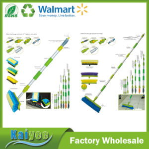 Short Handle Car Cleaning Window Glass Wiper with Silicone Rubber pictures & photos