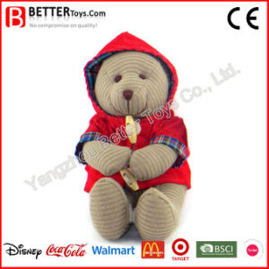 ASTM Stuffed Plush Toy Bear in Cloth pictures & photos