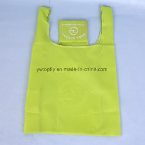 Reusable Polyester Folding Handbag Foldable Shopping Bag pictures & photos