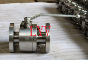 Stainless Steel Ball Valve with Flanged RF