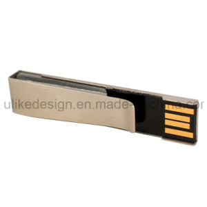 Promotional Metal USB Flash Drive with Your Logo (UL-M008) pictures & photos