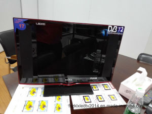"2016 New 17"" Tempered Glass Digital LED TV Model pictures & photos"