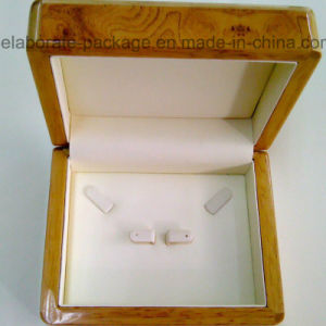 Solid Natural Wooden Jewelry Packing Gift Box Wholesale pictures & photos