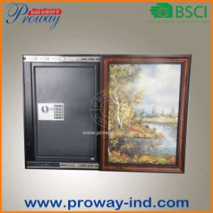High Security Electronic Wall Safe with Picture Frame pictures & photos