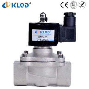 Stainless Steel Medium Pressure Oil and Gas Solenoid Valve pictures & photos