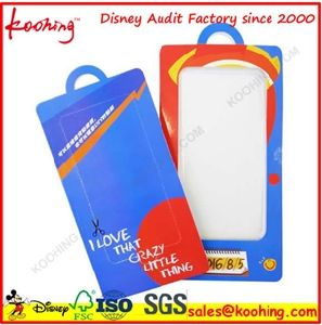 Electronical Products / Battery / Tools Blister Packaging Cover with Printing Cardboard pictures & photos