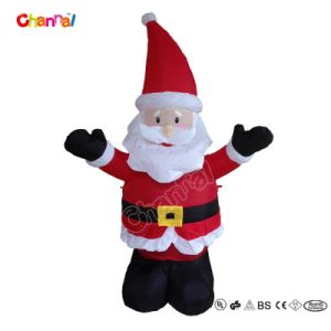 Christmas Toy Inflatable Decoration Santa for Party (CHX1411) pictures & photos