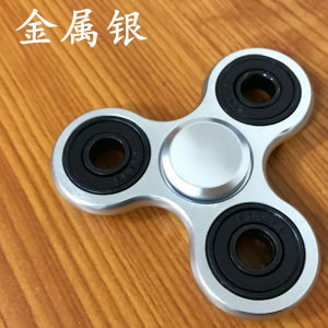 2017 Newest Aluminum Alloy Tri Spinner Fidget Metal Hand Spinner pictures & photos