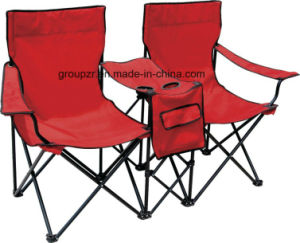 2person Folding Camping Chair with Desk pictures & photos