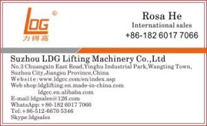 500kg 16m Hydraulic Scissor Lifting Equipment (SJY0.5-16) pictures & photos
