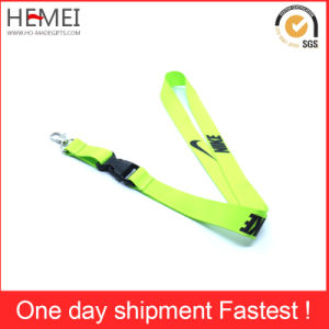 Lanyards Custom Promotion Polyester Sublimation Lanyards with Detachable Buckle pictures & photos