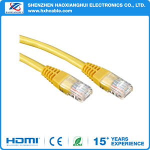Double Shield Cat5e LAN Cable 24AWG Copper Conductor Network Cable pictures & photos