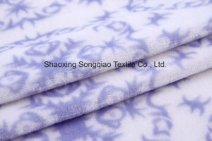 Printed Polyester Flannel/Coral Fleece Fabric -15530-2 1# pictures & photos