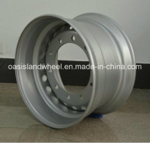 22.5X11.75 Tubeless Steel Wheel for High Way Truck pictures & photos