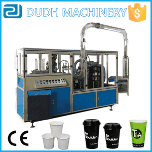 Full Automatic Fast Speed Paper Cup Machine with Collection