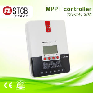 12V/24V Auto Identified MPPT Solar Controller 30A pictures & photos